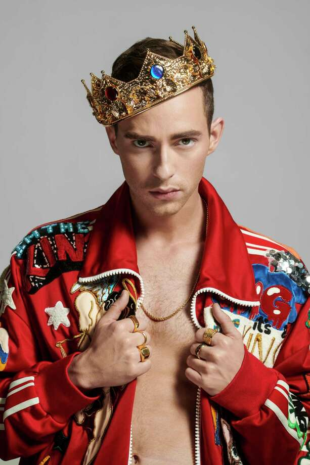 Dolce & Gabbana tagged tracksuit and sneakers; David Yurman gold rings; jeweled crown from Abracadabra NYC. (Marvin Joseph/The Washington Post) Photo: Marvin Joseph, The Washington Post / The Washington Post