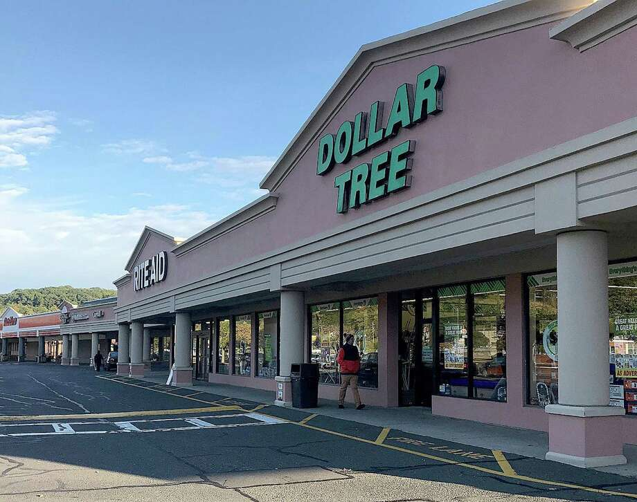 The North Street Shopping Center in Danbury, Connecticut, features Dollar Tree, which is part of the thriving discount retail industry. Photo: Chris Bosak / Hearst Connecticut Media / The News-Times