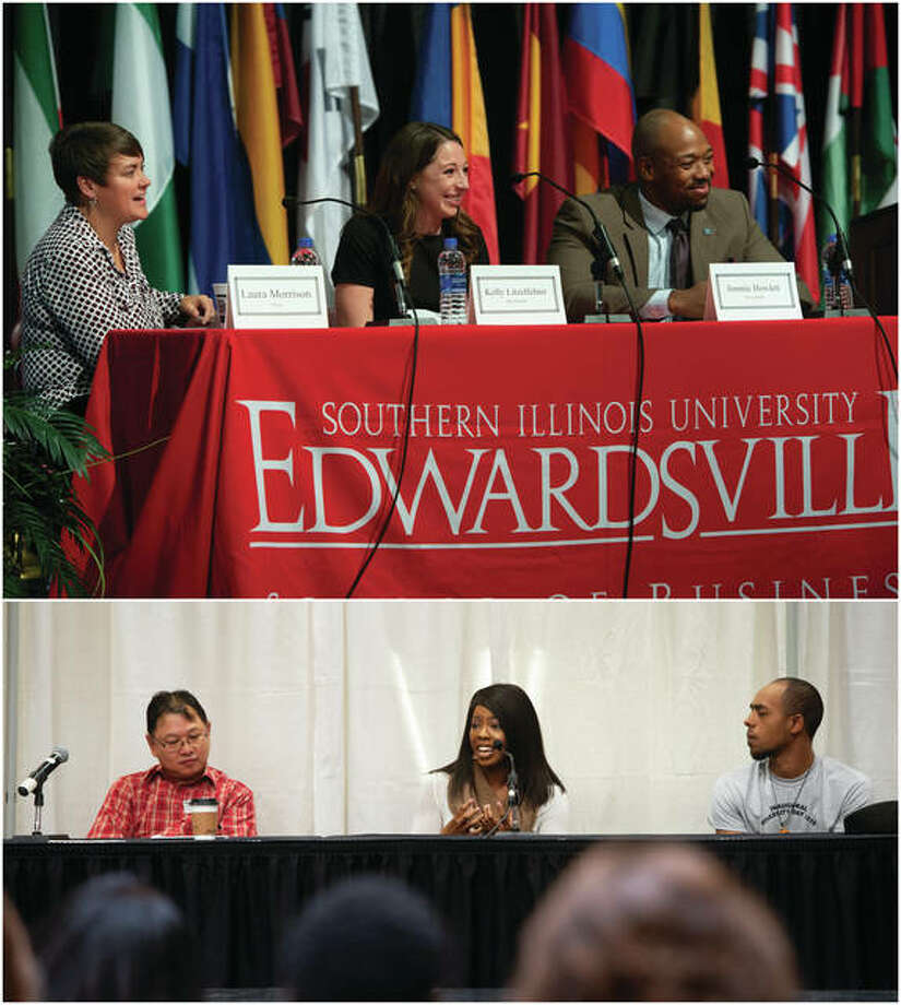 "Several panels were held during SIUE Diversity Day including ""Why This Day is Important"" and ""Intersectionality."" Photo: SIUE Photo"