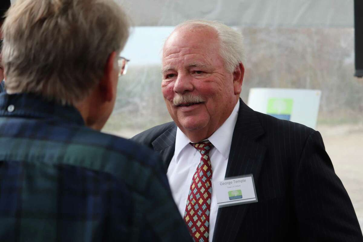 Oxford First Selectman George Temple.