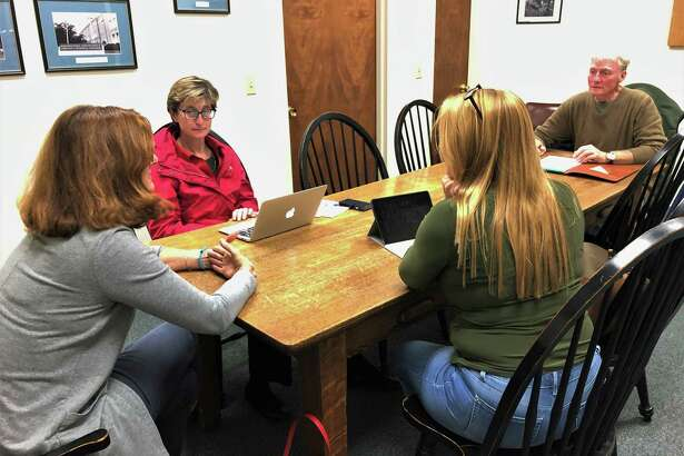 Four members of the Winchester Board of Education met for a special meeting Tuesday to discuss appointing a new member to fill a vacant seat.