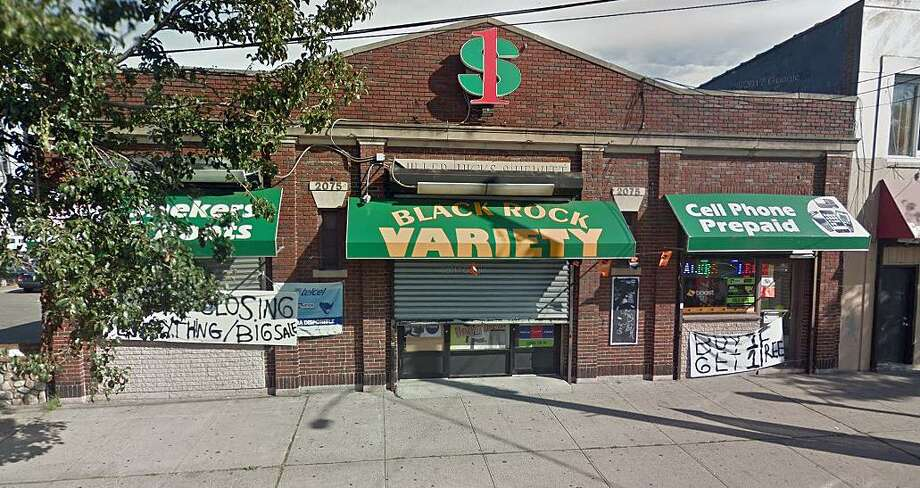 Google Maps image of Black Rock Variety on Fairfield Avenue in Bridgeport, Conn. The store was robbed at gunpoint on Oct. 17, 2018. Photo: Contributed Photo / Google Maps