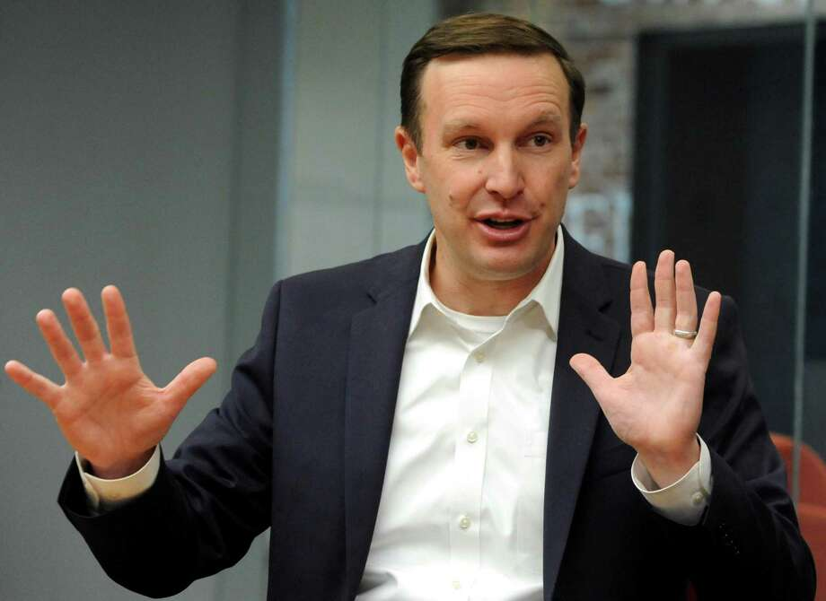 "U.S. Senator Chris Murphy, D-Conn. says he actually agrees with President Trump about something: The sanctity of products ""Made in the U.S.A."" Photo: Cathy Zuraw / Hearst Connecticut Media / Connecticut Post"