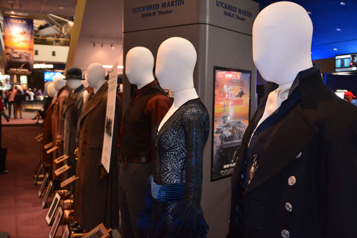 """Costumes from the """"Fantastic Beasts"""" sequel, """"The Crimes of Grindelwald,"""" will be on display at the Regal Edwards MarqE 23 in Houston Oct 19-21."""