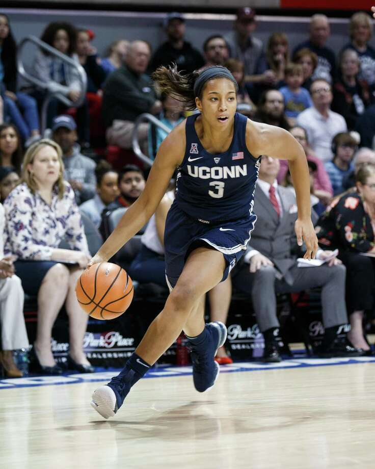 UConn guard Megan Walker is looking forward to improving on her consistency this season. Photo: Icon Sportswire / Icon Sportswire Via Getty Images / ©Icon Sportswire (A Division of XML Team Solutions) All Rights Reserved ©Icon Sportswire (A Division of XML Team Solutions) All