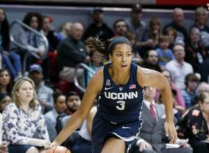 UConn guard Megan Walker is looking forward to improving on her consistency this season.