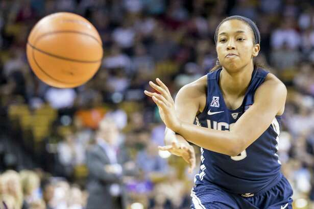 """UConn coach Geno Auriemma says Megan Walker has made a complete """"180"""" from the beginning of last season."""