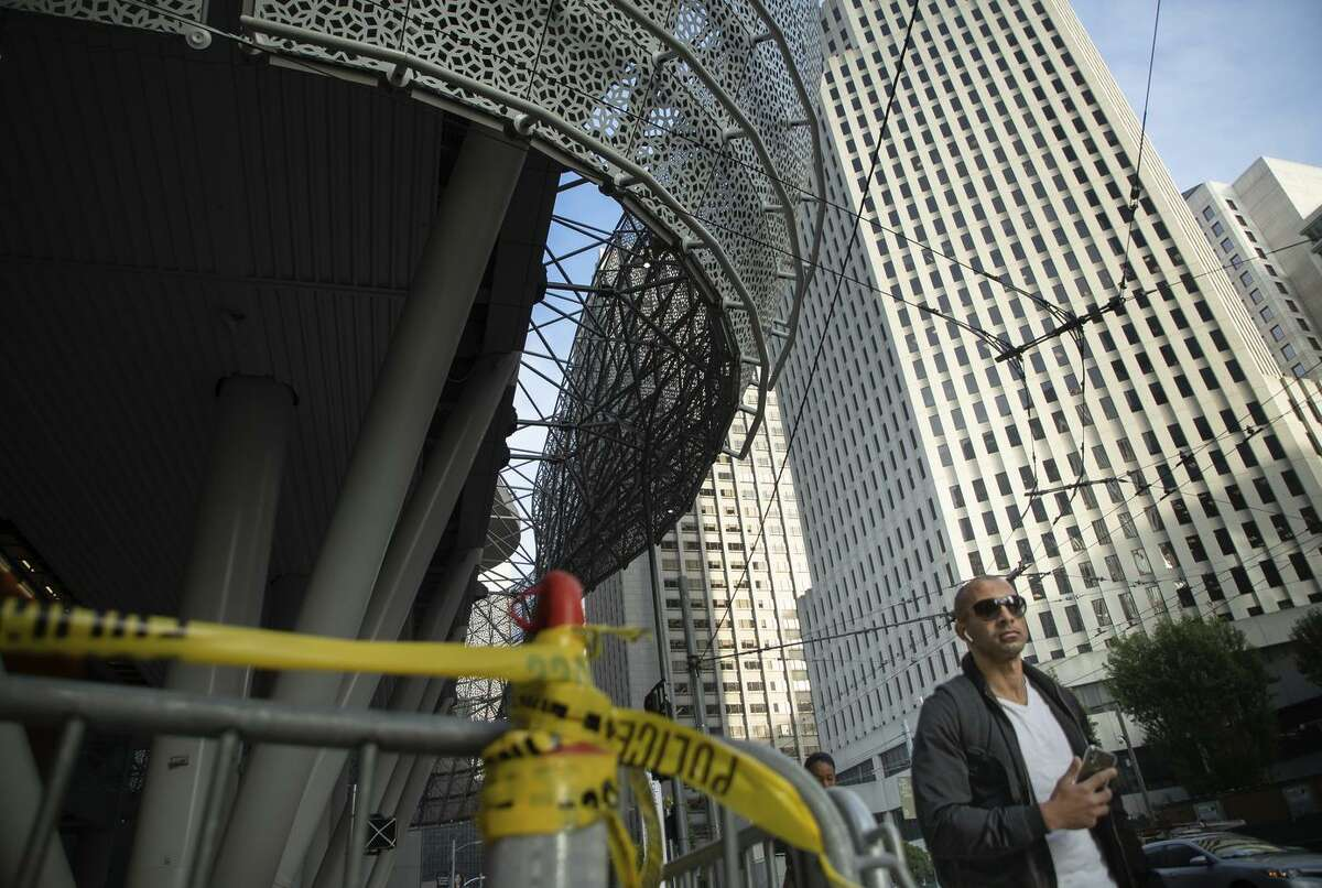 The new Transbay Transit Center remains closed after cracks were found in beams after its opening this summer. The project had suffered delays, which have been the subject of lawsuits.