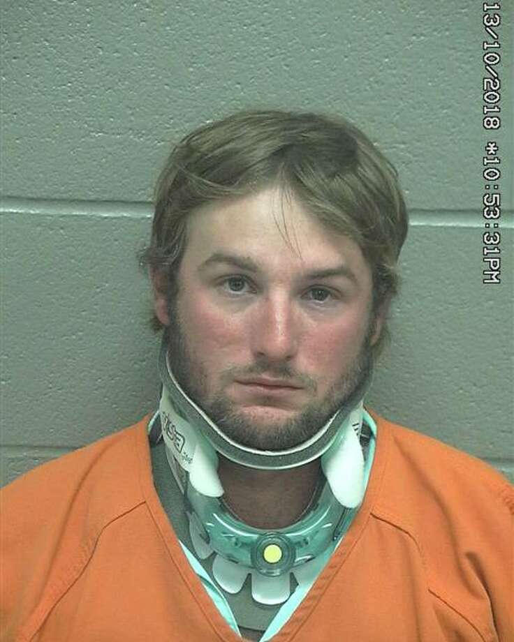 Tanner Delayne Cope, 28,was arrested Oct. 13 in connection with a two-vehicle crash in Midland County that resulted in the death of a 29-year-old man, according to court documents. Photo: Midland County Sheriff's Office