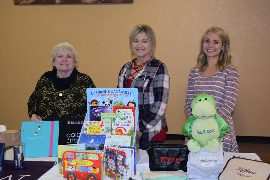 Dianne Schwalm, Tiffani Mason and Hayley Pinkerton (from left to right) will be vendors at the 44th annual Running Water Draw Arts & Crafts Show. Photo: Ellysa Harris/Plainview Herald
