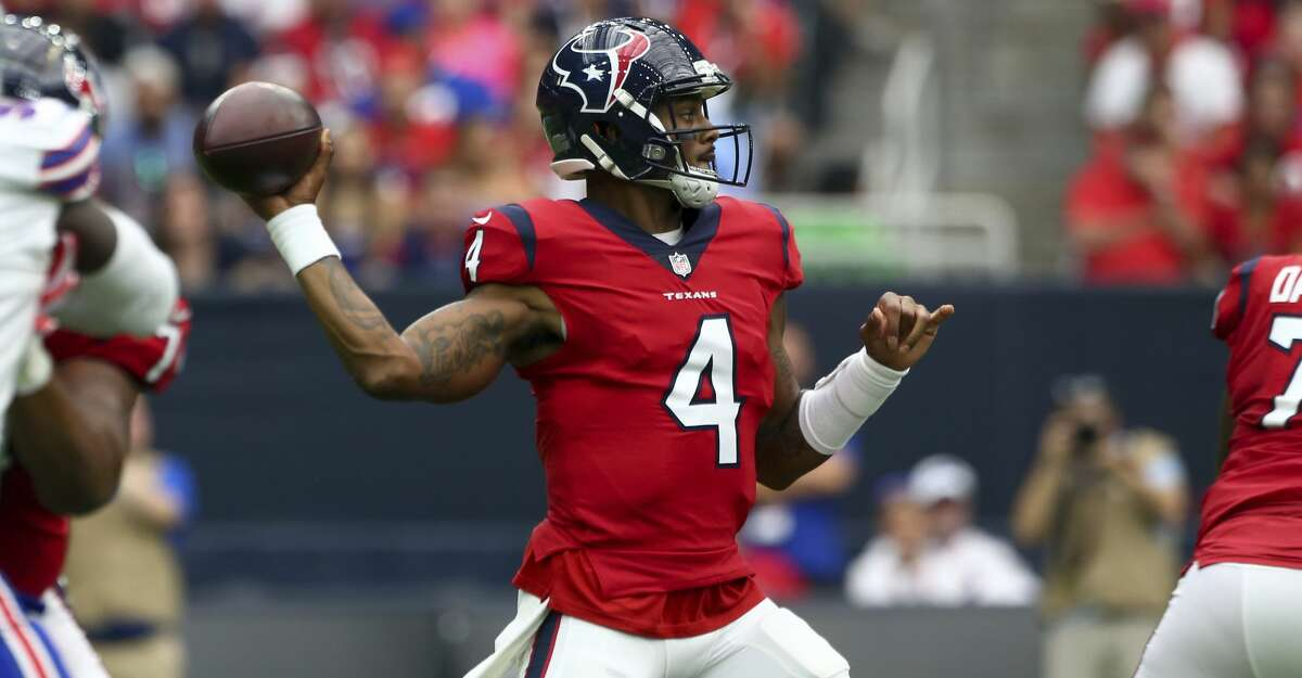 Deshaun Watson leading the Texans to victory over the injury-riddled Dolphins seems like a safe bet.