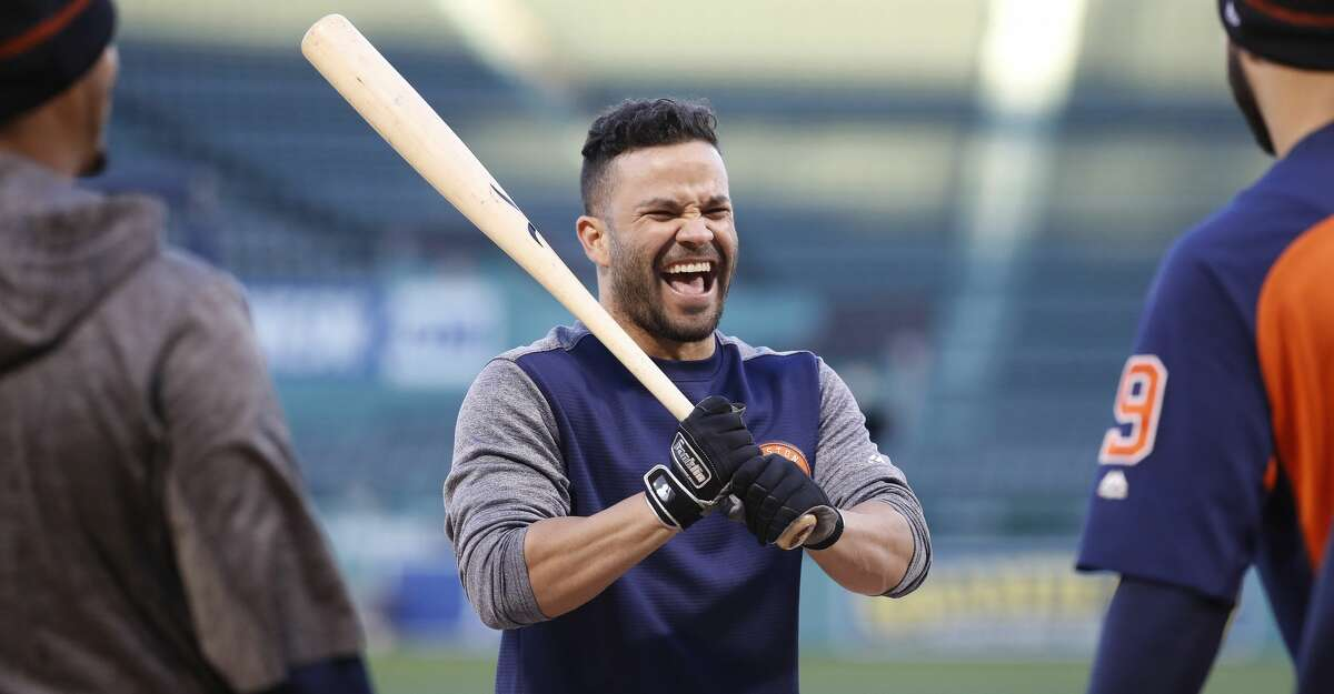 While Yankees fans continue their vulgar chant about Jose Altuve, the Astros second baseman just continues to hit, leading the team with 17 home runs.