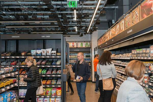 Sf S First Amazon Go Store Approved For Financial District