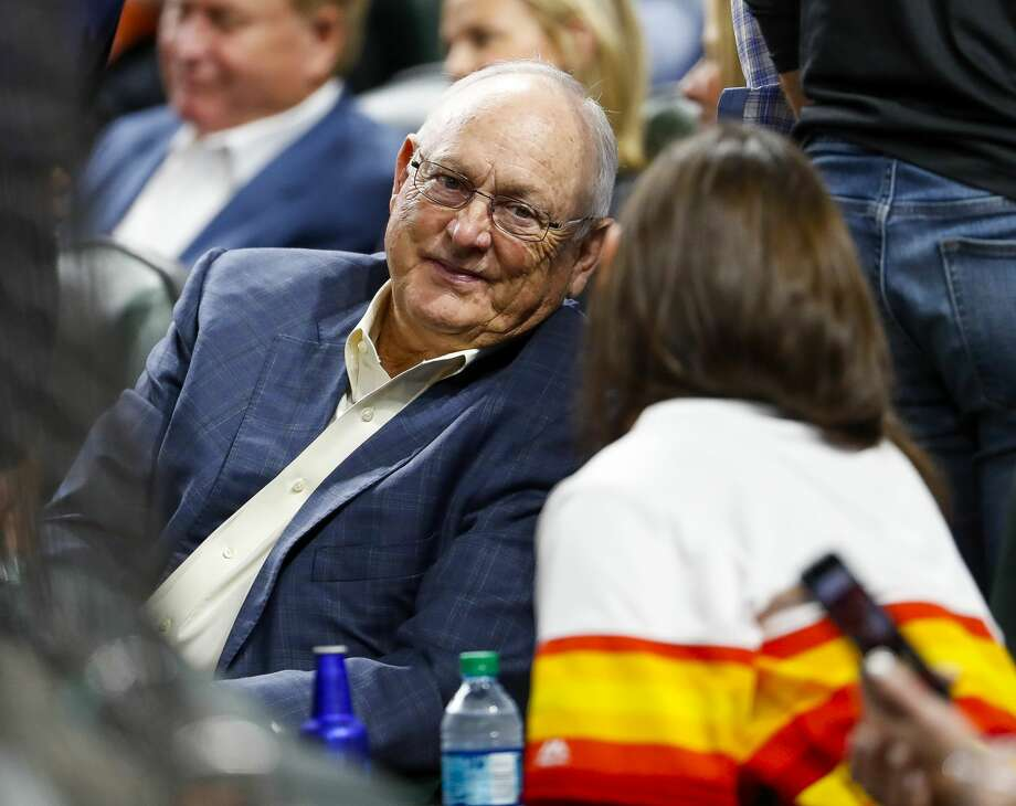 PHOTOS: Classic Nolan Ryan images from his playing days Former Astro Nolan Ryan talks in his seat behind home plate during the second inning of Game 4 of the American League Championship Series at Minute Maid Park on Wednesday, Oct. 17, 2018, in Houston. Photo: Brett Coomer/Staff Photographer