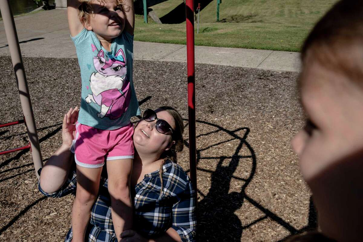 Voters disillusioned  Rachelle Batey, at a playground with her daughter Kaydence in Clarksville, Tenn., says she plans to join her husband in not voting this year because politics has become too divisive. >>>One state's example: Texas is one of the most gerrymandered states. See the district shapes data shows are carefully crafted to maintain the status quo.