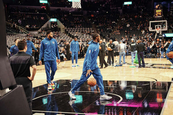 Basketball is back as the San Antonio Spurs beat the Minnesota Timberwolves, 112-108 during the first game of the season on October 18, 2018 at the AT&T Center.