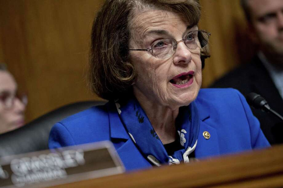 Sen. Dianne Feinstein, D-Calif. Photo: Bloomberg Photo By Andrew Harrer / Bloomberg