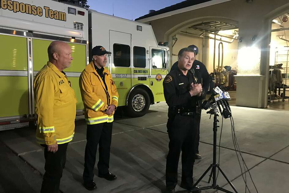 Contra Costa County Fire Protection District, Sheriff's Office and Chevron officials announced Thursday morning that an underground gas vault fire is still burning at a Chevron facility in Pittsburg, Calif.