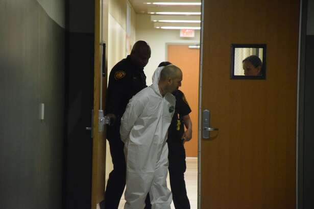 Jose Sanchez is accused of carrying out a double shooting at about 2:30 a.m. Wednesday in the 6200 block of Old Pearsall Road.