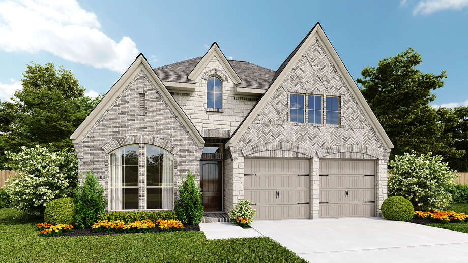 Perry Homes has introduced a new line of homes on smaller lots in Harvest Green. The homes range from 1,400 to 2,600 square feet and start at about $250,000. Photo: Perry Homes