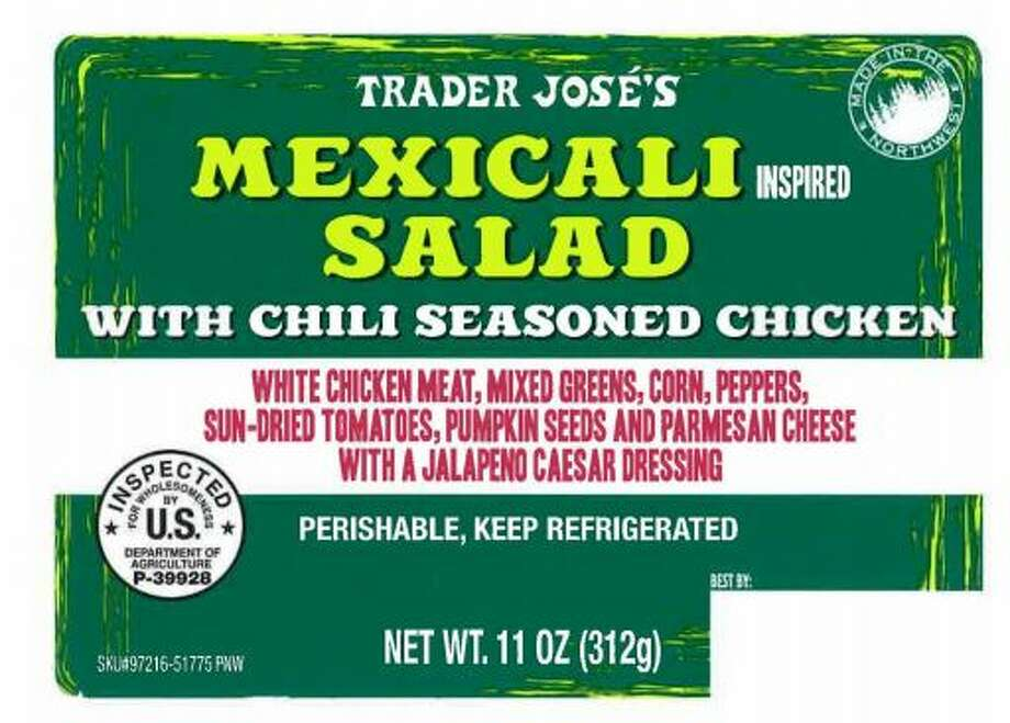 Trader Jose's Mexicali Salad with Chili Seasoned Chicken Photo: Courtesy FSIS
