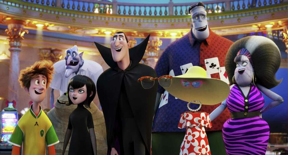 "Memorial City Mall screens ""Hotel Transylvania 3: Summer Vacation"" on Friday. Photo: Associated Press / © 2017 CTMG, Inc. All Rights Reserved. **ALL IMAGES ARE PROPERTY OF SONY PICTURES ENTERTAINMENT INC. FOR PROMOTIONAL USE ONLY."
