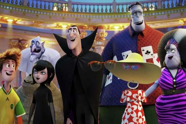 "Memorial City Mall screens ""Hotel Transylvania 3: Summer Vacation"" on Friday."