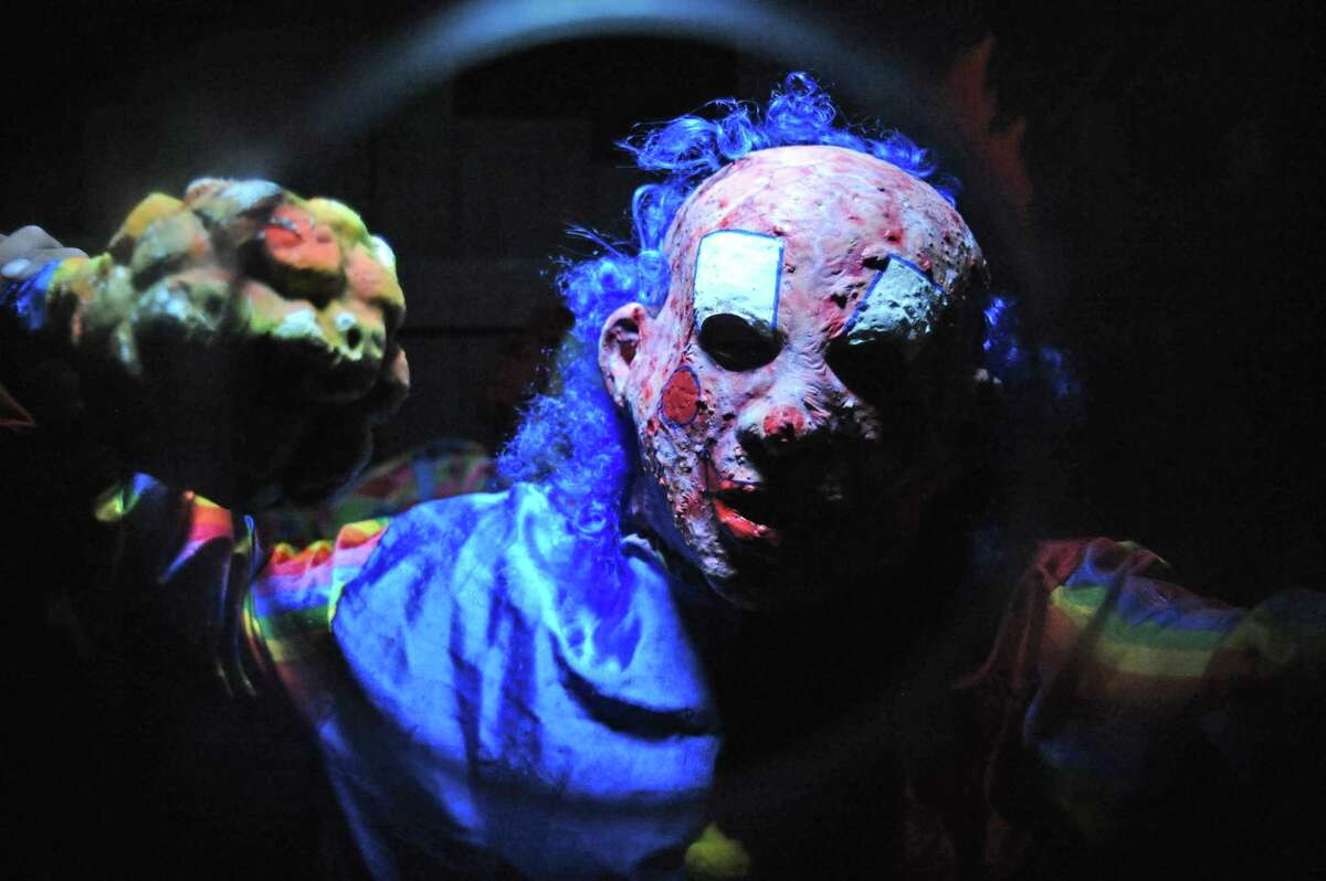 Animatronics, frightening displays and live actors highlight the Dungeon of Doom at the Kemah Boardwalk through Halloween.