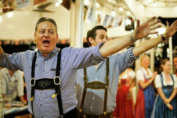 King's BierHaus in Houston will hold its annual Oktoberfest celebration Oct. 19-21 with games, music, prizes and, yes, a lot of beer. Scenes from the 2017 Oktoberfest.