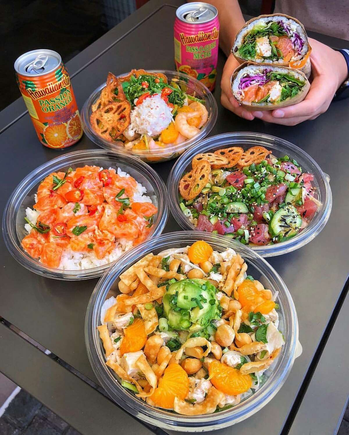 Pokeworks in Wilton serves colorful bowls of food with endless combitions.