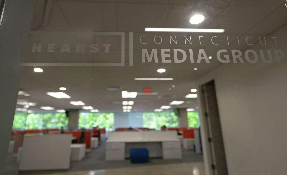 Hearst Connecticut Media Group offices at 301 Merritt 7 in Norwalk, Conn.