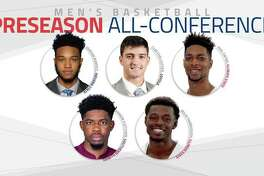 Members of the All-MVC first team