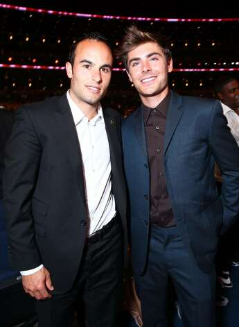LOS ANGELES, CA - JULY 14:  Soccer player Landon Donovan and actor Zac Efron attend the 2010 ESPY Awards at Nokia Theatre L.A. Live on July 14, 2010 in Los Angeles, California.  (Photo by Alexandra Wyman/Getty Images for ESPY) *** Local Caption *** Landon Donovan;Zac Efron Photo: Alexandra Wyman, Getty Images For ESPY / 2010 Getty Images