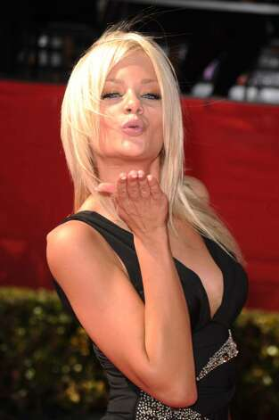 LOS ANGELES, CA - JULY 14:  Actress Riley Steele arrives at the 2010 ESPY Awards at Nokia Theatre L.A. Live on July 14, 2010 in Los Angeles, California.  (Photo by Jason Merritt/Getty Images) *** Local Caption *** Riley Steele Photo: Jason Merritt, Getty Images / 2010 Getty Images