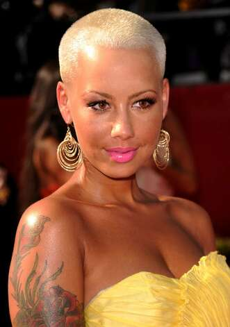 LOS ANGELES, CA - JULY 14:  Model Amber Rose arrives at the 2010 ESPY Awards at Nokia Theatre L.A. Live on July 14, 2010 in Los Angeles, California.  (Photo by Jason Merritt/Getty Images) *** Local Caption *** Amber Rose Photo: Jason Merritt, Getty Images / 2010 Getty Images