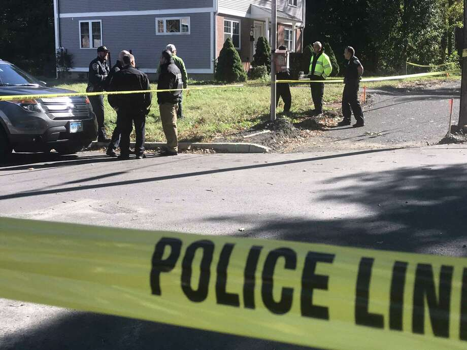 Authorities are searching for a 22-year-old city man, Kyshone M. Jackson Jr., whom they say shot a man in the face around noon Thursday on Long Lane, about a half-mile from Snow Elementary school. Photo: Cassandra Day / Hearst Connecticut Media / The Middletown Press