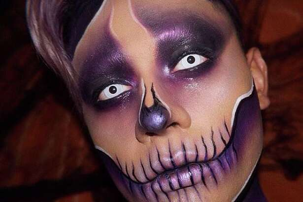 Twenty-year-old Fernando Riojas shares his Halloween-inspired makeup looks on Instagram.