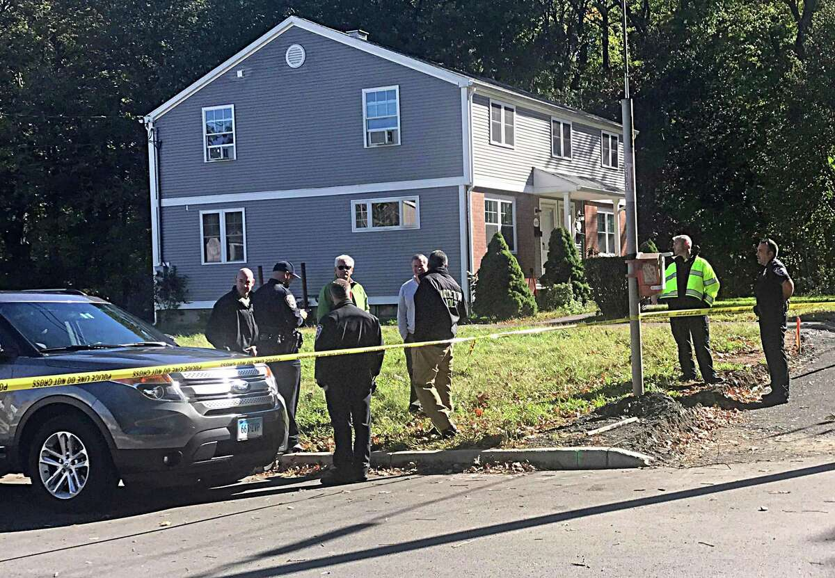 Police are investigating a shooting in Middletown Thursday at a home on Long Lane. The suspect is considered armed and dangerous, authorities said.