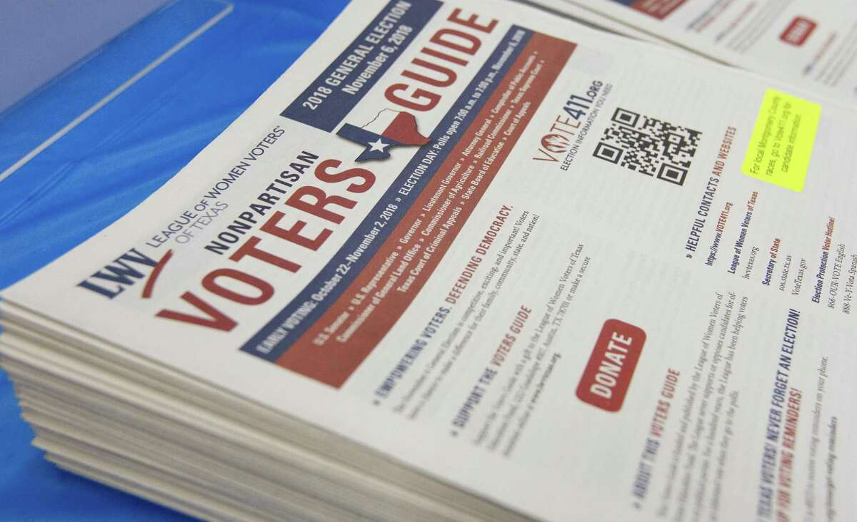 The Montgomery County League of Women Voters provides non-partisan information about candidates to voters.