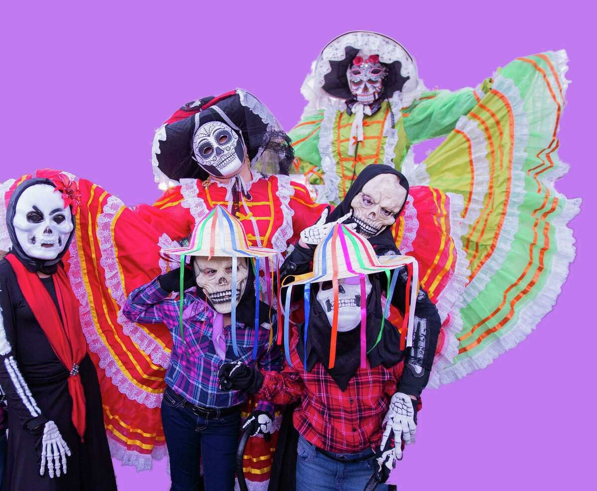Children celebrate Día de los Muertos at Guadalupe Cultural Arts Center. The Day of the Dead can spark fear in anyone - young or old - who believes the legends.