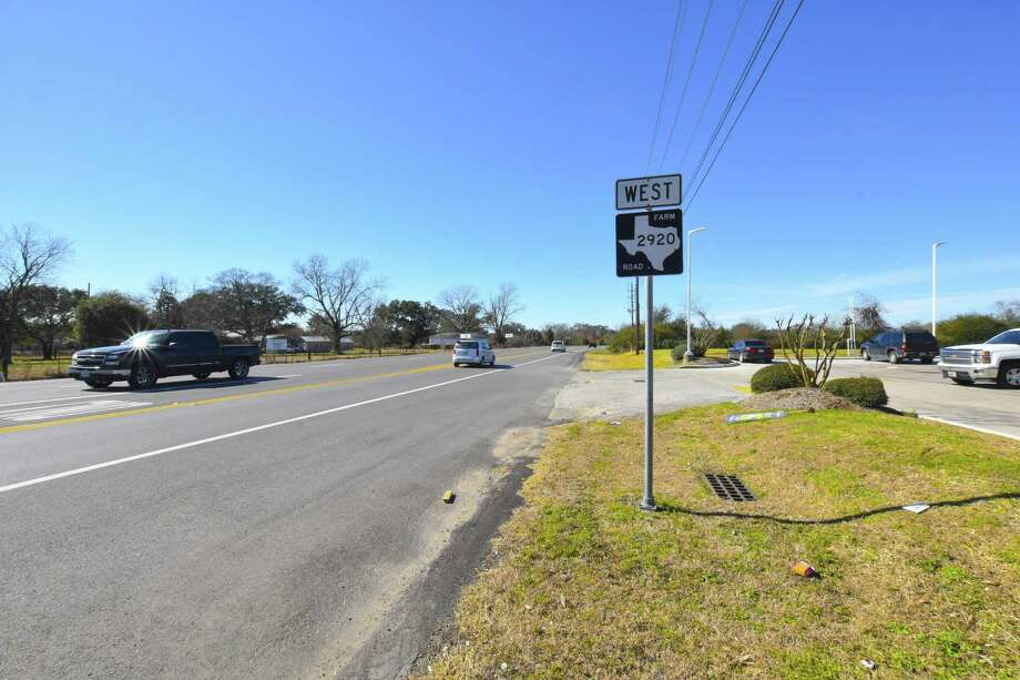 FM 2920 between U.S. 290 to Rosehill Road may be widened to a four lanes. Photo: Tony Gaines, Photographer