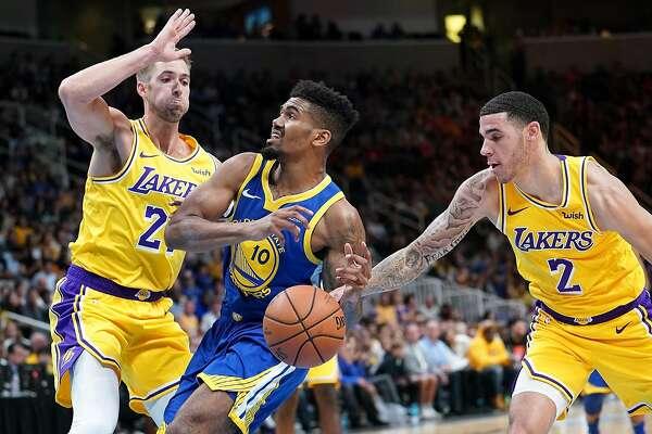 Warriors' Jacob Evans navigates rookie learning curve