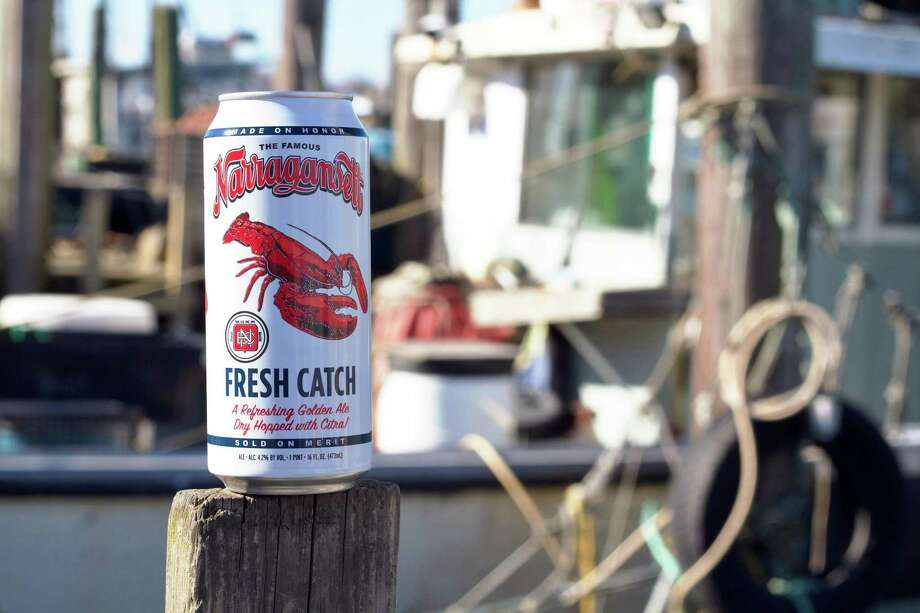 The new Fresh Catch in a 16-ounce can. Photo: Narragansett Brewery / Contributed Photo