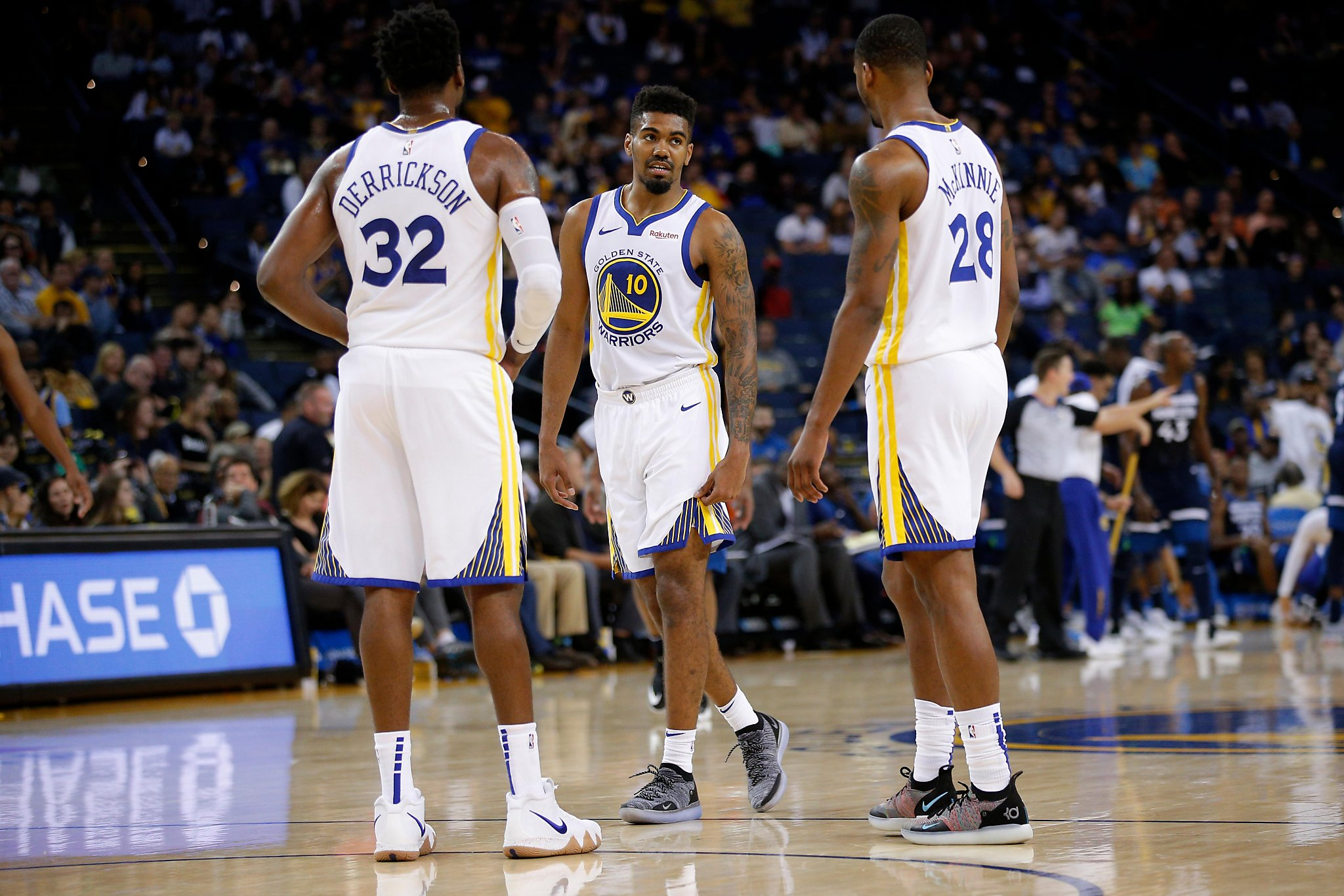 Warriors recall Jacob Evans III and Marcus Derrickson from Santa Cruz -  SFChronicle.com cf720efec