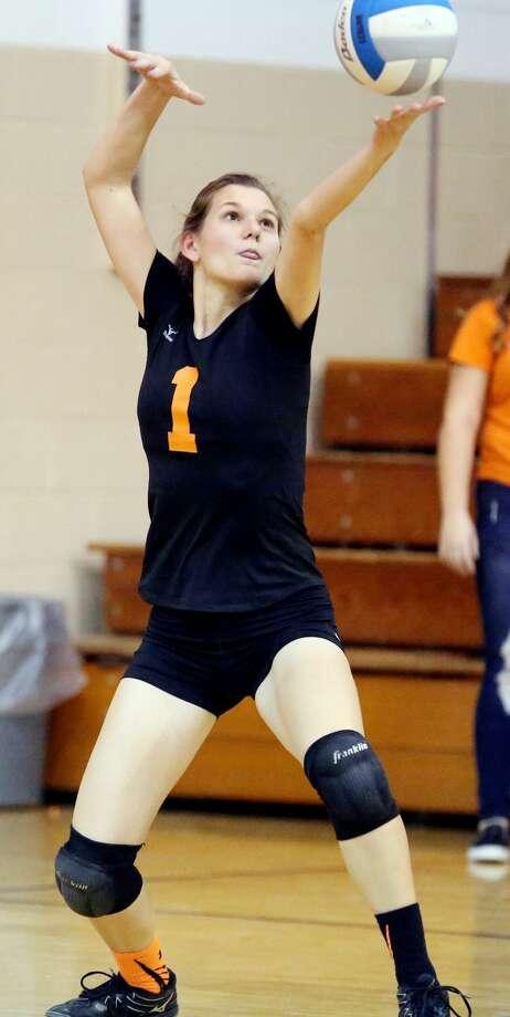 Sandusky at Ubly — Volleyball Photo: Paul P. Adams/Huron Daily Tribune