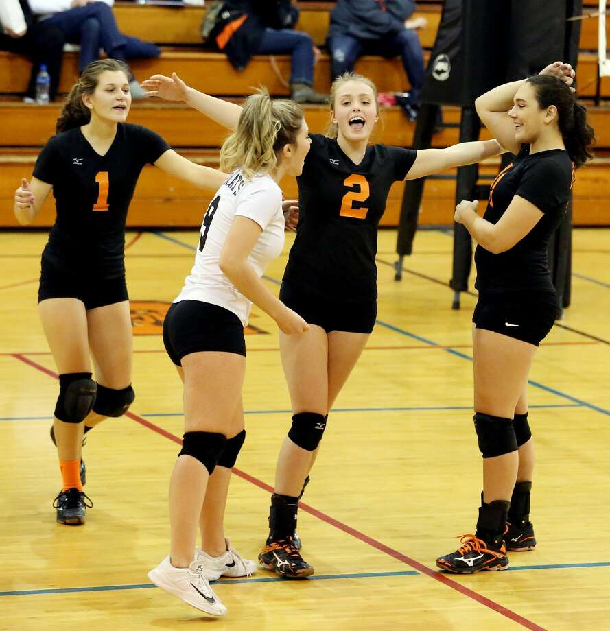 Sandusky at Ubly — Volleyball Photo: Paul P. Adams/Huron Daily Tribune