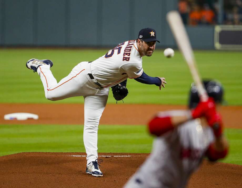 HOUSTON ASTROS 2018 SALARIES Justin Verlander, RHP  $28 million Six-year, $162 million contract. Could become a free agent after the 2019 season.  Photo: Brett Coomer/Staff Photographer