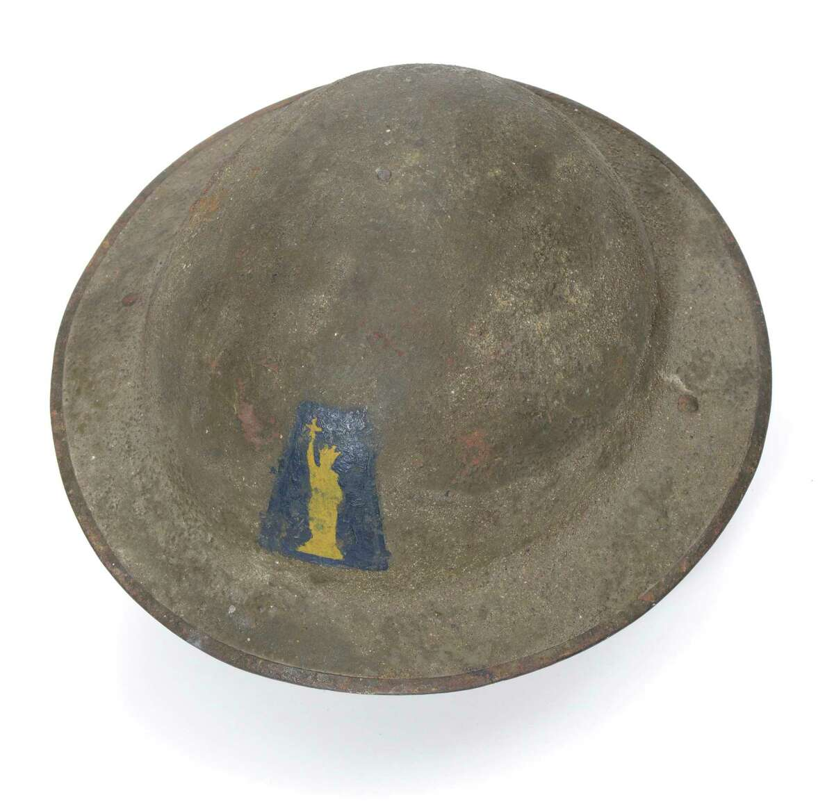 The State Museum in Albany exhibit on the centennial of World War I, A Spirit of Sacrifice: New York State in the First World War, will be on display from April 15, 2017, through June 3, 2018. Steel Helmet, 77th ?