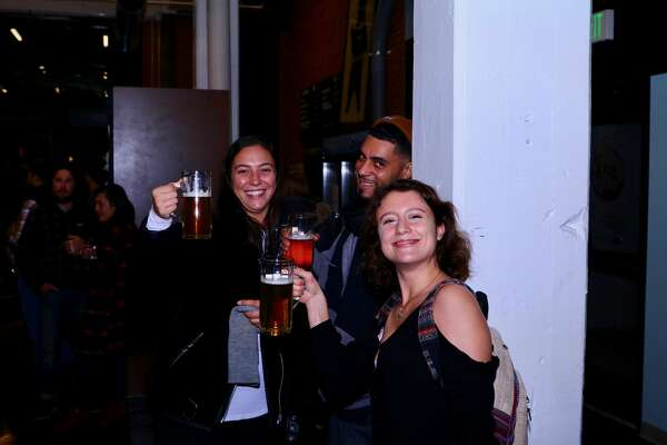 The East Rock Brewing Company held its official grand opening on Thursday, Oct. 18, 2018. The Nicholl Street brewery features 12 draft beers and soft pretzels from Whole G Bakery. Were you SEEN?