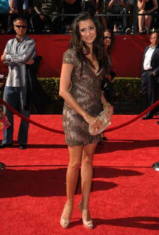 LOS ANGELES, CA - JULY 14:  Actress Noureen DeWulf arrives at the 2010 ESPY Awards at Nokia Theatre L.A. Live on July 14, 2010 in Los Angeles, California.  (Photo by Jason Merritt/Getty Images) *** Local Caption *** Noureen DeWulf Photo: Jason Merritt, Getty Images / 2010 Getty Images
